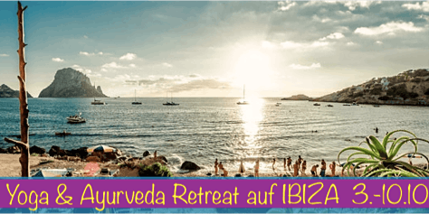 "Yoga Retreat ""SPIRITBLISS"" auf  Ibiza 3.-10.10.2020"