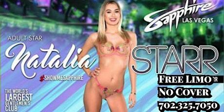 (Nataila Starr) Sapphire Las Vegas AVN Weekend tickets