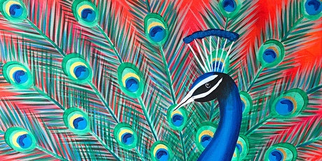 Peacock Parade Brush Party - Tring tickets