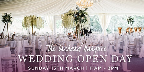 The Orchard Marquee Wedding Open Day tickets