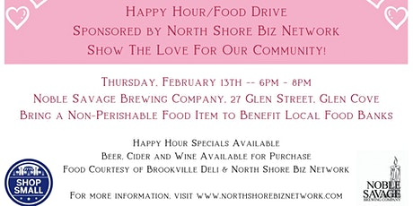 NSBN Facebook Neighbor Happy Hour Food Drive tickets