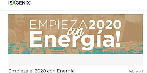 Isagenix - Empieza el 2020 con Energía