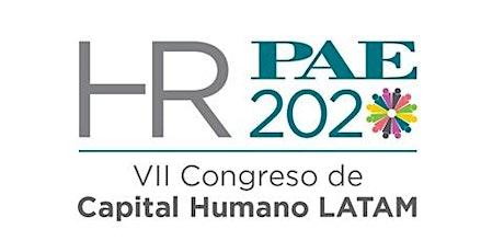VII Congreso de Capital Humano PAE HR 2020 entradas