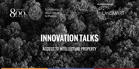 Innovation Talks | Access to Intellectual Property biglietti