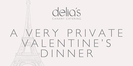 A Very Private Valentine's Dinner tickets