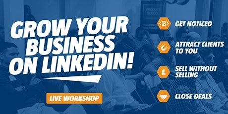 Grow Your Business on LinkedIn - PLYMOUTH tickets