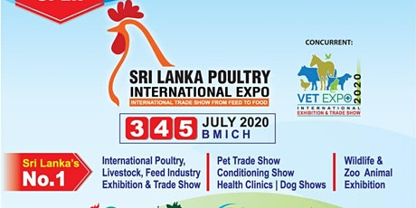 2nd Sri Lanka Poultry Expo 2020 tickets