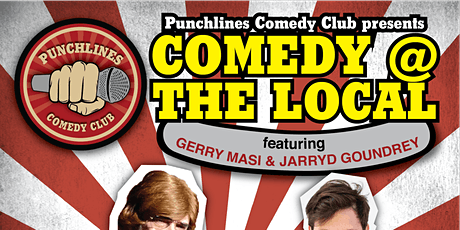 Comedy @ The Local - Friday 31 January, 2020 tickets