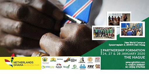 Netherlands-Ghana Business Fair Day 2: Partnerships & Funds