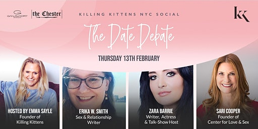 Killing Kittens NYC Social - The Date Debate