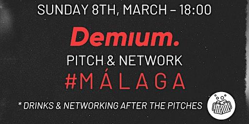 Pitch & Network - #AllStartup Málaga