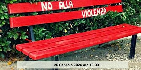 Inaugurazione Panchina Rossa biglietti