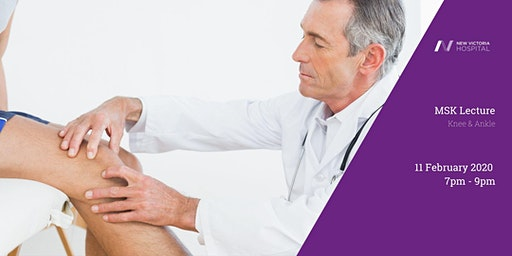 FREE MSK Lecture - Knee & Ankle
