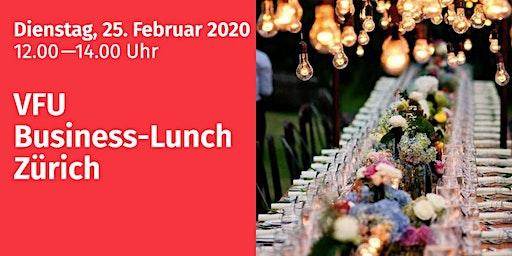 Business-Lunch, Zürich-City, 25.02.2020