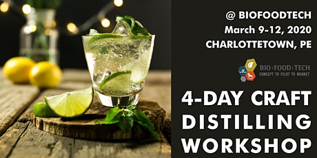 Distilling Workshop tickets