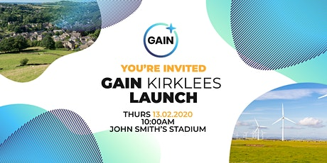 Gain Kirklees Launch Event tickets