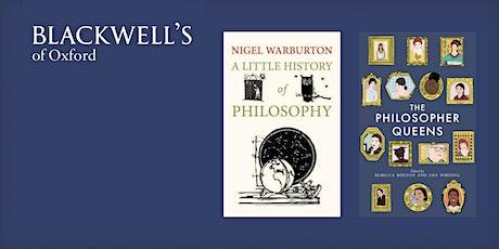 Philosophy in the Bookshop - Nigel Warburton and The Philosopher Queens tickets