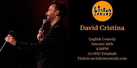 English Comedy - David Cristina tickets