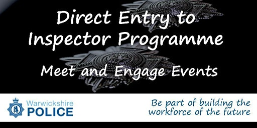Direct Entry to Inspector Programme - Meet and Engage Event