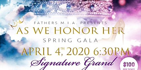 """As We Honor Her"" Annual Spring Gala tickets"
