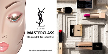YSL Beauty Masterclass: How To Create A Flawless Make-Up Complexion tickets