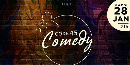 Code 45 COMEDY Club stand up