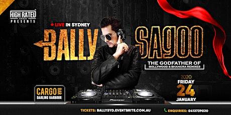BALLY SAGOO Live at CARGO BAR, Darling Harbour tickets