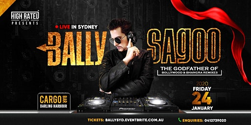 BALLY SAGOO Live at CARGO BAR, Darling Harbour