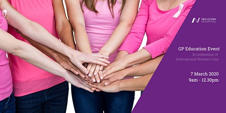 GP Education Event - In Celebration of International Women's Day  tickets