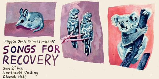 Songs for Recovery: a bushfire benefit