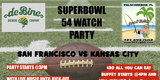 SUPERBOWL 54 WATCH PARTY