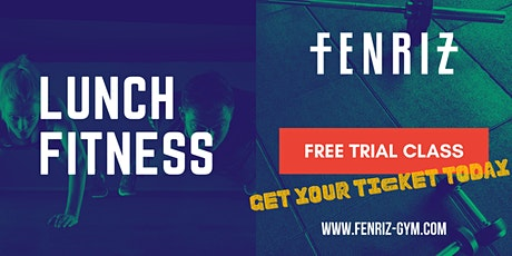 Lunch Fitness - Free Trial Class Tickets