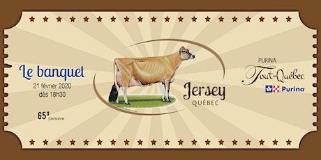 Banquet de l'AGA - Jersey Québec 2020 billets