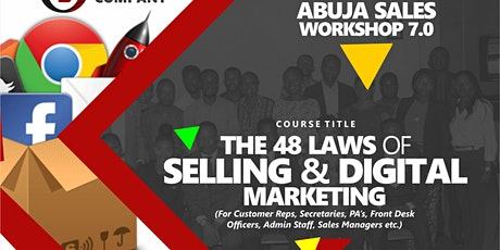 THE 48 LAWS OF SELLING AND DIGITAL MARKETING WORKSHOP tickets