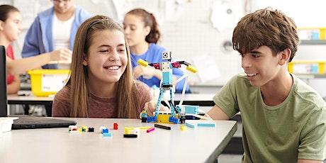 Robotics: Mit LEGO® Spike Prime einen Greifarm entwickeln Tickets