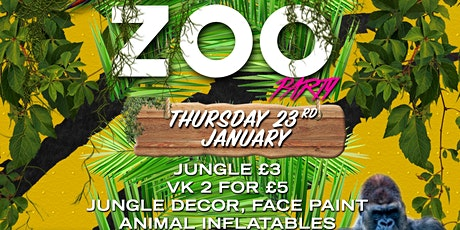 Zoo Party - Finesse | Thursdays at Grand Elektra tickets