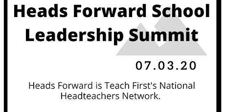 Heads Forward School Leadership Summit tickets