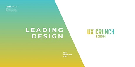 The UX Crunch: Leading Design tickets