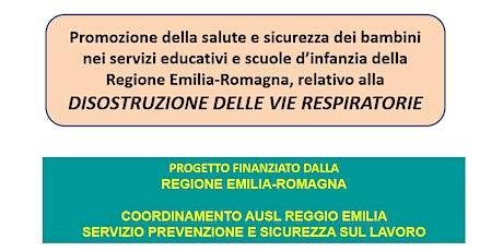Ferrara  : Corso Disostruzione per Scuole Infanzia biglietti