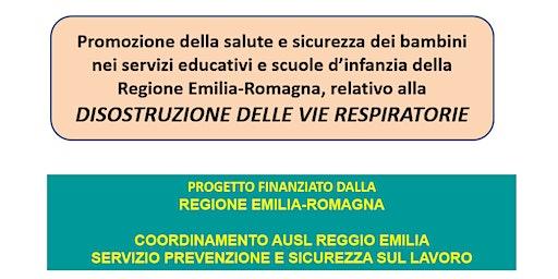 Ferrara  : Corso Disostruzione per Scuole Infanzia