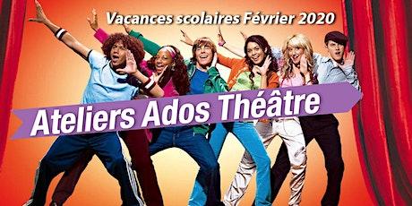Stage Atelier théâtre pour adolescents billets