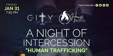A Night of Intercession...Human Trafficking tickets