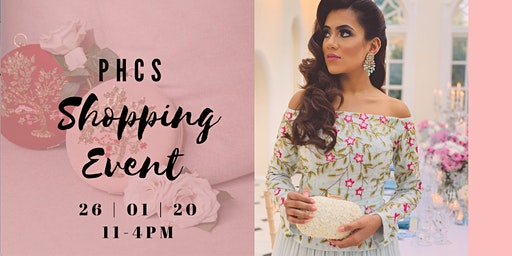 P.H.C.S JANUARY SHOPPING EVENT.