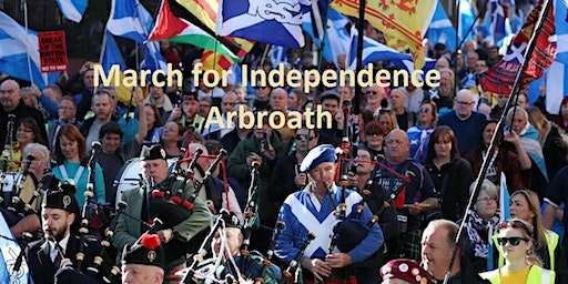 March for Independence Arbroath (Return Coach from Inverurie and Aberdeen)