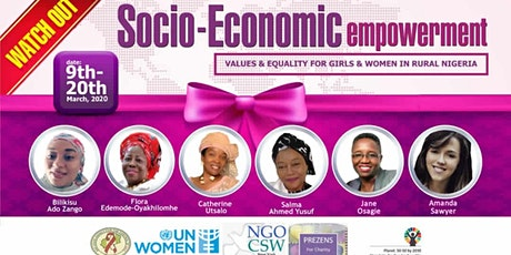 CSW64 Socioeconomic Empowerment/Equality for Girls and Women tickets