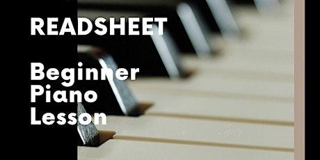 Free beginner piano lesson (Easy method!) billets