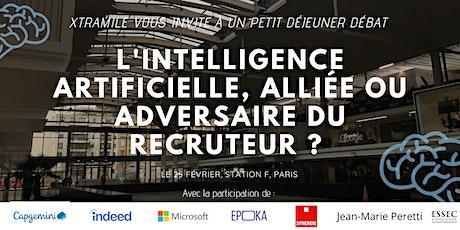 L'intelligence artificielle, alliée ou adversaire du recruteur ? billets