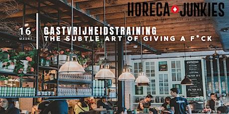 Gastvrijheid Verankeren in de Horeca-Cultuur van jouw zaak! tickets