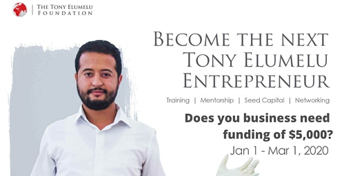 EMPOWERING AFRICAN ENTREPRENEURS - $5,000 SEED CAPITAL