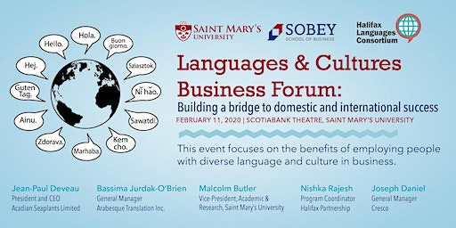 Languages & Cultures Business Forum: Building a bridge to domestic and international success